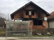 Na zasada neutvrđeni način došlo do požara obiteljske kuće u kojoj nitko ne živi