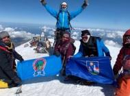 Silvija i Ratimir Čajka - prvi Požežani koji su se popeli na Elbrus, najviši vrh Europe