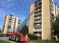 Požar u stanu u Babinom viru