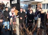 Orezali prvu lozu u jedinstvenom vinogradu na Trgu graševine u Kutjevu