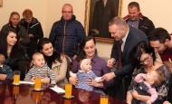 Prosinački prijem novorođenih stanovnika grada Požega