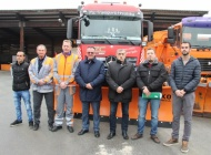 Zimska služba Županijske uprave za ceste spremna za snijeg s 800 tona soli