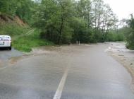 Prva zatvorena cesta u Orljavcu prema Pakracu