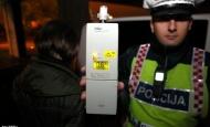 Šest vozača i jedna vozačica u kontroli zatečeni pod utjecajem alkohola