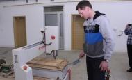 Nabavio i CNC gravirku za metal, plastiku i drvo