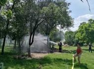 Požar na gospodarskoj zgradi a 70-godišnjakinja predala streljivo