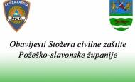 Trenutno stanje u Požeško - slavonskoj županiji dana 06. kolovoza 2020. godine