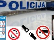 """Pojačane mjere u prometu za vikend donijele čak 121 prekršaj a 23-godišnja vozačica """"zaradila"""" 11.300 kuna kazne"""