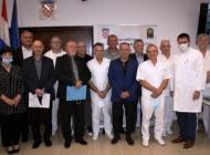 Plaketama i medaljama nagrađeni liječnici postrojbe saniteta 123. brigade HV Požega