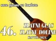 Program 46. Festivala Zlatni glas Zlatne doline 2021. sutra u Kaptolu