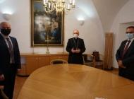 Požeški biskup Antun Škvorčević primio gradonačelnika Darka Puljašića i župana Alojza Tomaševića